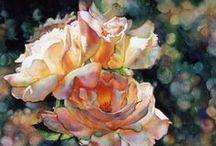 Flowers in Art & Illustration