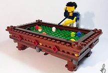 LEGO & Billiard / Billiard by LEGO