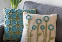 Crochet & Knitting Pillows