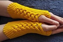 Crochet & Knitting Mittens