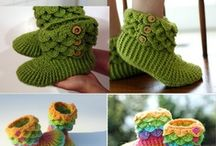 Crochet & Knitting Shoes & Socks