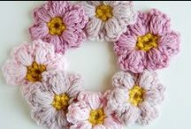 Crochet & Knitting Flowers