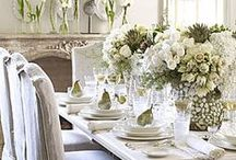 Decorating with White / by Lynda @ Gates of Crystal