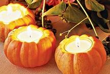 Autumn: Jump in the leaves / All things Autumn that the Top Flight Team enjoys, like turning leaves and Halloween fun!