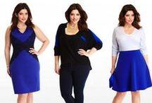 FTF + Cobalt Blue / Cobalt Blue Plus Size Fashion. Spring 2014 color trends!