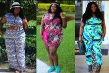 FTF+ Tropical Prints with Chante / Tropical spring prints for spring worn by plus size fashion blogger  Everything Curvy and Chic.