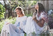 Tavin S/S '15 Lookbook / Shot By Lani Trock in Echo Park | Models: Jessica Mau & Lauryn Holmquist | Makeup & Hair: Jenny Bowker