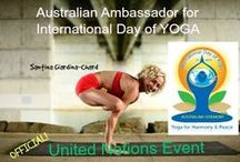 AUSTRALIAN YOGA. International Day of Yoga - Australia / YOGA. United Nations declared an International Day of Yoga from 2015. This is celebrated in Australia with the Inaugural #InternationalDayofYoga Ceremony and Interactive Participation. Create the Symbolic Australian Mandala with us, send your hopes, dreams, prayers to be part of our Time Capsule! yogis@susanwanmer.com.au  Join with yoginis, anatomists, aboriginal elders and dignataries as we all participate in this 3 hour event. Brisbane, Australia. #iDayofYoga