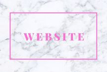 WEBSITE / www.justagirlinthisworld.com