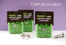 HALLOWEEN / Ghosts and goblins, oh my! Not too scary recipes and projects to try!! / by Jamie @ Eighteen25