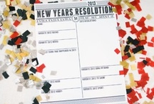 NEW YEARS / Recipes, Decor and fun ideas for New Years & New Year's Eve