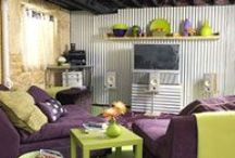 Decorating on a Dime / DIY and budget-friendly home decorating projects