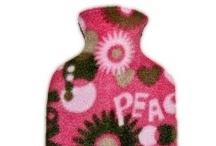 Children's Fleece Covered Hot Water Bottles