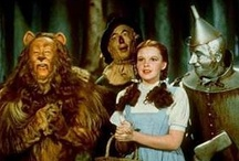 Wizard of Oz / My favorite movie. If happy little bluebirds fly beyond the rainbow...why,oh why, can't I?