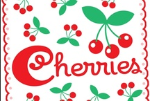 cherry cheer / love cherries to eat, and to decorate with