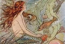 mermaids / If I had to live in the sea, a mermaid I would be!
