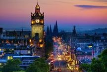 scotland / such beauty and history. I want to go and enjoy the military tattoo one of these days.