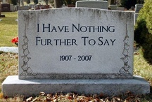 """cemeteries / some are eerie, some are beautiful...but they are all interesting. I want my stone to say """"But I wasn't ready yet!"""""""