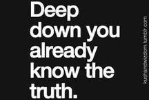 Truth! / by Sara Beth Allen