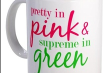 pink and green / such a beauty-ous combination!
