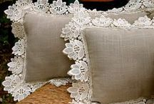 Lace Dream Home / A collection that inspires homes, décor and more! Inspired by lace, crochet and handmade pattern
