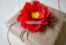 Paper flowers / Paper flowers.  / by Korin Anderson