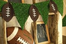 Super Bowl Party / We share great ideas for Super Bowl party planning and decoration! Tag your pins with #BHGRE and we'll repin them!