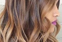 Brunette Beauties / Hair Color Ideas For Brunettes! Beautiful balayaged brunettes and a bunch of hair color ideas for brown hair! / by Simply Organic Beauty