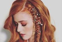 Seeing Red! / Red Hair Colors | Red Hair Color Ideas | Red Hair Color Trends | Gorgeous Redheads / by Simply Organic Beauty