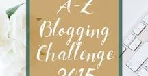 A-Z Blogging Challenge 2015 / Our graphic A-Z of cat ownership, as compiled for the 2015 Blogging from A-Z Challenge