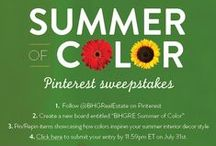 BHGRE Summer of Color / The Better Homes and Gardens® Real Estate Summer of Color Pinterest Sweepstakes has ended. Thank you for participating!