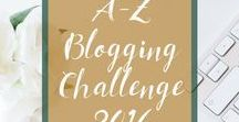 A-Z Blogging Challenge 2016 / Combining our A to Z Blogging Challenge with a month of language learning using Duolingo