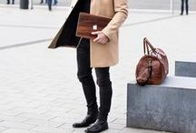 Style: Gentleman / Modern style for today's go-getters. Fashion and Menswear