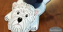 SewAmazin: Dog Lovers Accessories / Accessories and Gifts for Dog Lovers, specializing in Westie, Scottie, Cairn and other terriers, handmade by SewAmazin
