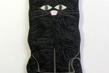 SewAmazin: Cat Lovers Accessories / Accessories and Gifts for Cat Lovers, handmade by SewAmazin