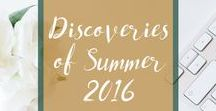 Discoveries of Summer 2016 / This was a summer of discovery and took me to galleries and museums across the UK. These are some of the things I found and which I loved, which made me think or which just left me wanting to ponder a little bit more on them. (More to be added - I seem to have hit my pinning limit for now!)  Find out more at http://fragmentarythoughts.co.uk/category/the-pica-pica-project/.