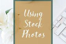 Using Stock Photos