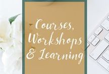 Courses, Workshops & Learning