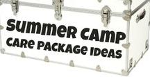 summer camp / all things summer camp - packing, tips, tricks, and ideas for cute care packages!