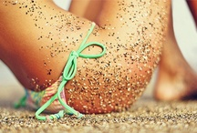 Summer Love / My most loved season of the year...beach, tan skin, sand in your toes, salt in your hair...nothing beats a hot summers day!