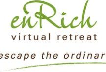 EnRich Virtual Retreat / Founded by Karina Stephens, this retreat will teach you how to slow down physically and release the blocks to achieving a StressLess life. It will show you tools and practices to increase your energy so that you can start to manifest from a place of effortlessness.