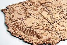 MAPS/CARTES / Le fascinant univers des cartes et de la cartographie du monde et de l'univers