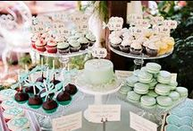 Dessert Buffets / by Black Bride