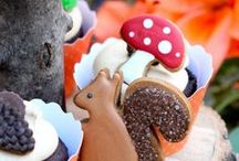 Party Food / Delight your kids & guests with adorable food treats that match your Party theme.