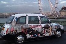 Taxi Advertising / Taxi advertising uses the iconic London taxi to communicate with your audience on a very personal level, they dominate city streets and urban areas, transporting your message across the city and into the minds of the consumer.   http://www.transportmedia.co.uk/taxi-advertising.html / by Transport Media