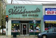 Vintage Shop Signs/Fronts