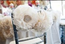 Chair Covers / by Black Bride
