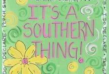 Southern Belle / Proud to be a born and raised Southern Belle // #south #southern #chattanooga #georgia / by Heather Cordell