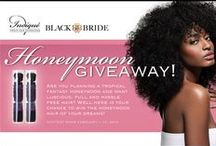 Black Bride Contest / Check in with us often for awesome giveaways on our website!   / by Black Bride