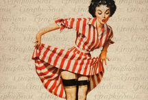 Pin up  / by M. Parker Graphic Design